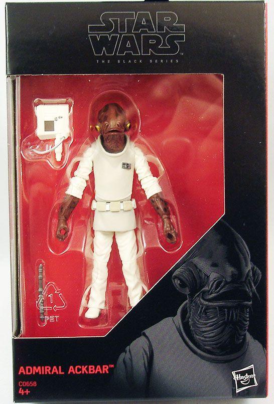"Star Wars - Admiral Ackbar - The Black Series 3.75\"""