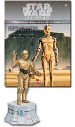 Star Wars - Altaya Chess - #03 C-3PO - White Rook