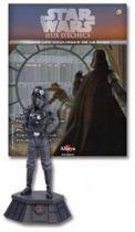 Star Wars - Altaya Chess - #20 Imperial Pilot - Black Pawn
