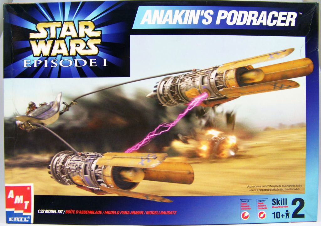 Star Wars - AMT/ERTL Model Kit - Anakin's Podracer (1:32 scale)