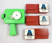 Star Wars  (Guerre des Etoiles) - Meccano Cinevue Viewer + 3 Movie Cartridges