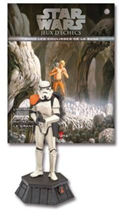 Star Wars - Jeux d\'Echec Altaya - #05 Sandtrooper - Pion noir