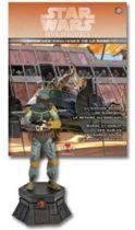Star Wars - Jeux d\'Echec Altaya - #08 Boba Fett - Cavalier noir
