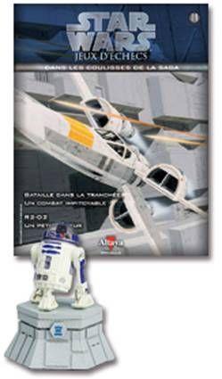 Star Wars - Jeux d\'Echec Altaya - #11 R2-D2 - Tour blanche