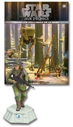 Star Wars - Jeux d\'Echec Altaya - #14 Commando rebelle - Pion blanc
