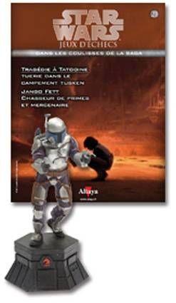 Star Wars - Jeux d\'Echec Altaya - #21 Jango Fett - Cavalier noir