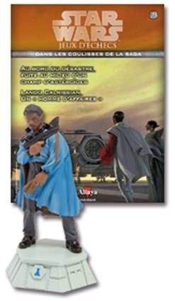 Star Wars - Jeux d\'Echec Altaya - #23 Lando Calrissian - Pion blanc