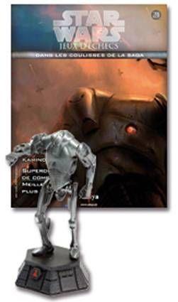Star Wars - Jeux d\'Echec Altaya - #24 Super Batlle Droid - Pion noir