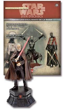 Star Wars - Jeux d\'Echec Altaya - #33 Count Dooku - Reine noire