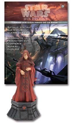 Star Wars - Jeux d\'Echec Altaya - #35 Darth Sidious - Roi noir
