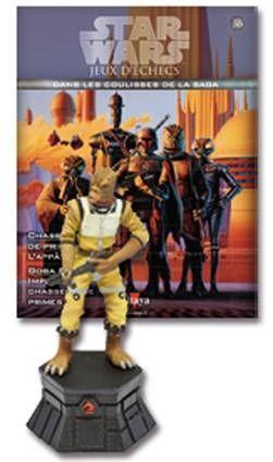 Star Wars - Jeux d\'Echec Altaya - #36 Bossk - Cavalier noir