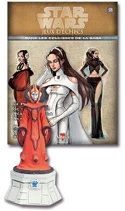 Star Wars - Jeux d\'Echec Altaya - #38 Padme Amidala - Reine blanche
