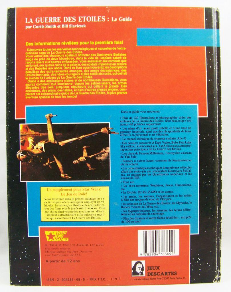 Star Wars - Jeux Descartes & West & Games - Le Guide La Guerre des Etoiles 03