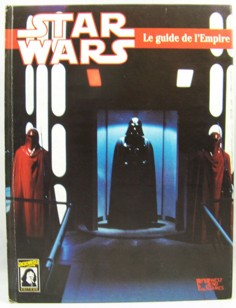 Star Wars - Jeux Descartes & West & Games - Le Guide de l\'Empire 01