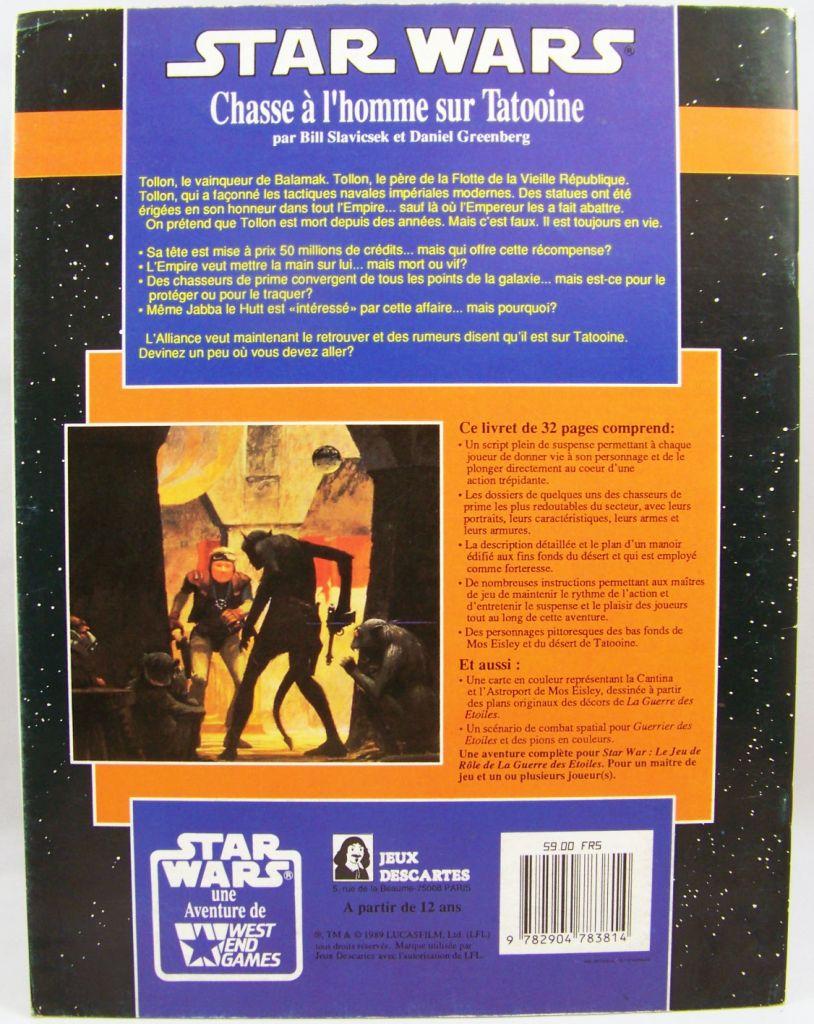 Star Wars - Jeux Descartes & West & Games - Chasse à l\'homme sur Tatooine 02