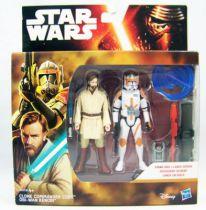 Star Wars - Le Reveil de la Force - Clone Commander Cody & Obi-Wan Kenobi (Episode 3)