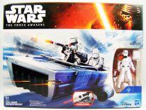 Star Wars - Le Reveil de la Force - First Order Snowspeeder & Snowtrooper Officer