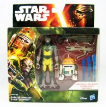"Star Wars - Le Reveil de la Force - Garazeb Orrelios & C1-10P \""Chopper\"" (Rebels)"