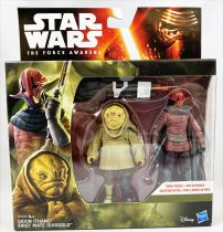 Star Wars - Le Reveil de la Force - Sidon Ithano & First Mate Quiggold