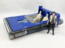 Star Wars - Solo - Han Solo\'s Landspeeder w/ Han Solo (Corellia)  loose without box