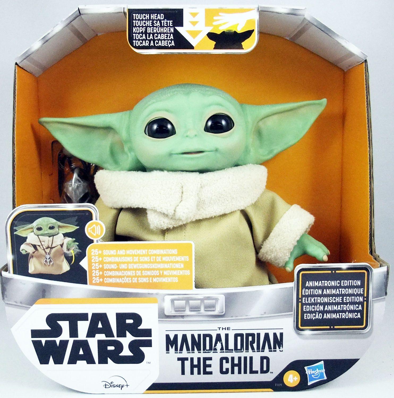 Star Wars : The Mandalorian - Hasbro - Figurine Animatronique The Child (L\'Enfant)