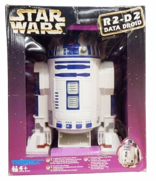 Star Wars - Tiger Electronics - R2-D2 Data Droid (Audio Tape Player) )