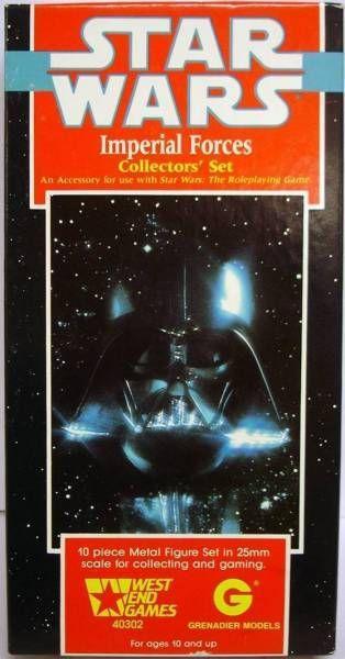 Star Wars - West & Games (RPG) - Imperial Forces