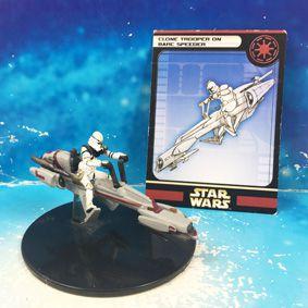 Star Wars - Wizards of the Coast - Clone Trooper on Barc Speeder