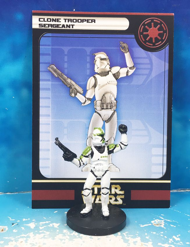 Star Wars - Wizards of the Coast - Clone Trooper Sergeant