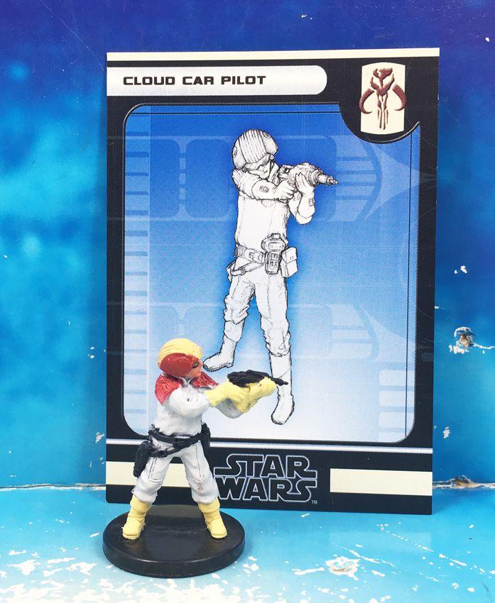 Star Wars - Wizards of the Coast - Cloud Car Pilot