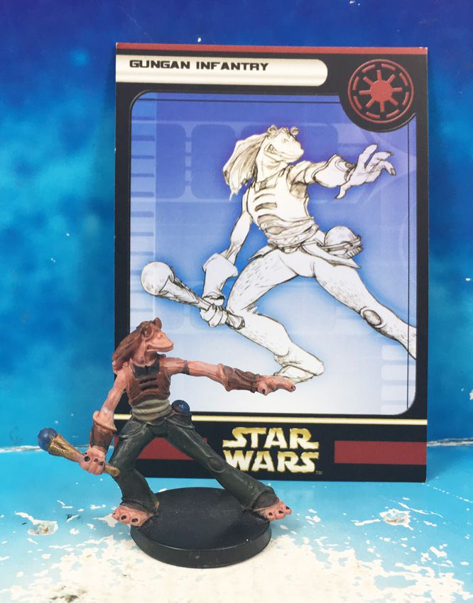 Star Wars - Wizards of the Coast - Gungan Infantry