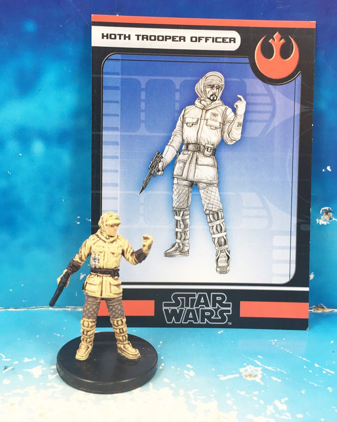 Star Wars - Wizards of the Coast - Hoth Trooper Officer