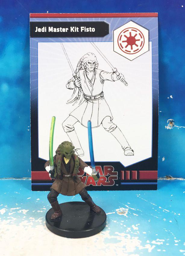 Star Wars - Wizards of the Coast - Jedi Master Kit Fisto