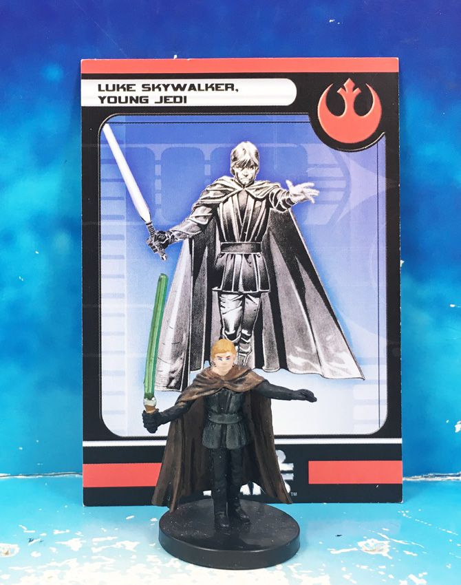 Star Wars - Wizards of the Coast - Luke Skywalker, Young Jedi