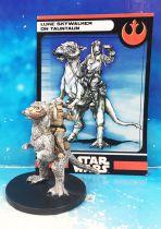 Star Wars - Wizards of the Coast - Luke Skywalker on Tauntaun