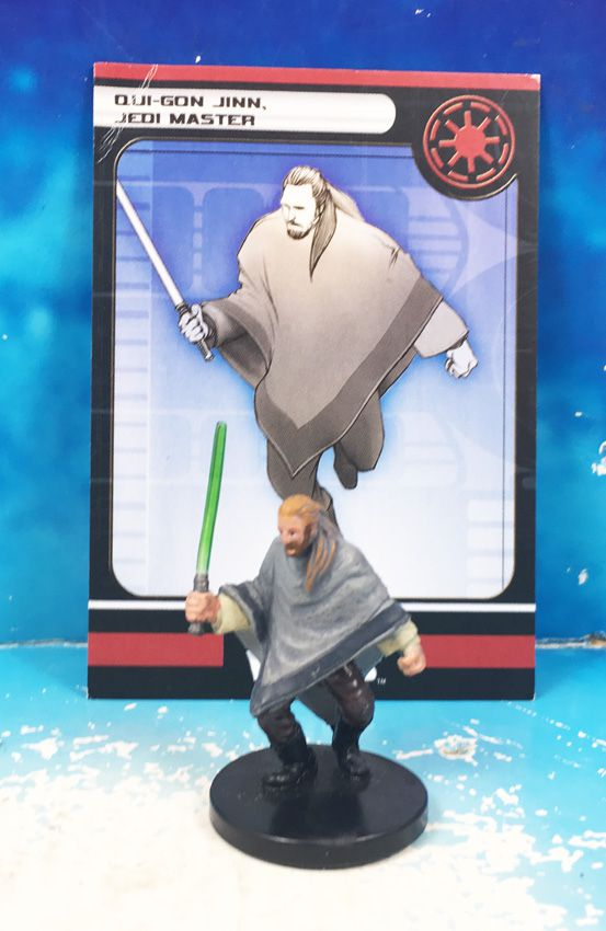 Star Wars - Wizards of the Coast - Qui-Gon Jinn, Jedi Master