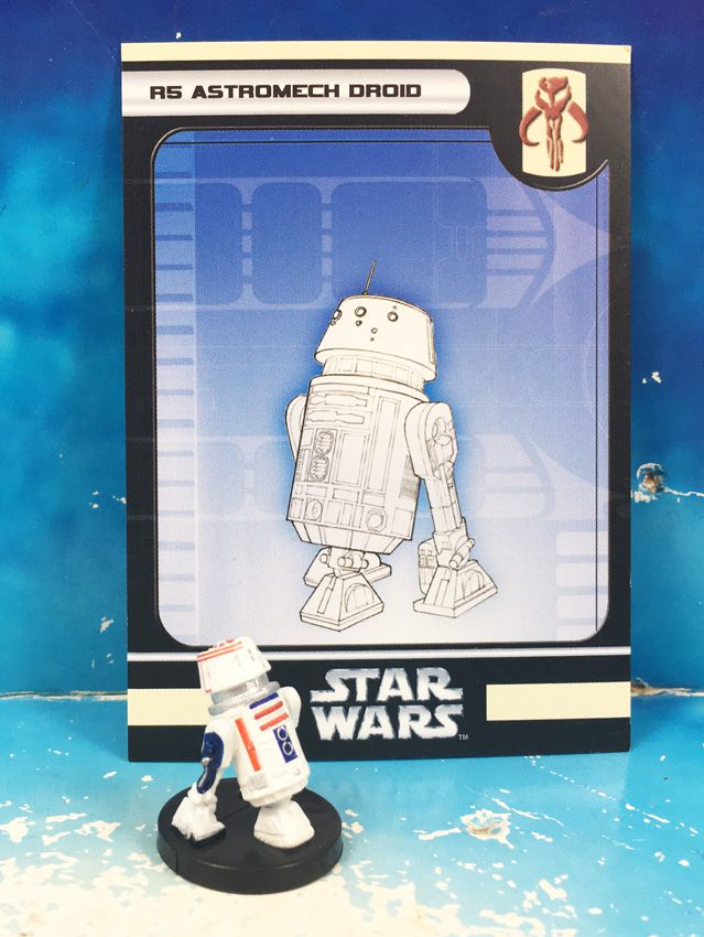 Star Wars - Wizards of the Coast - R5 Astromech Droid