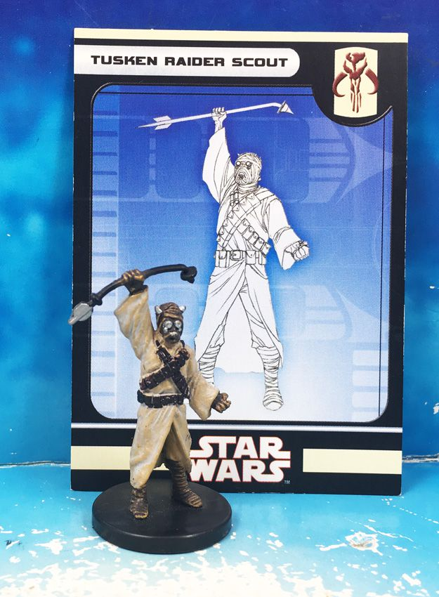 Star Wars - Wizards of the Coast - Tusken Raider Scout