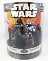 "Star Wars (30th Anniversary) - Hasbro - \""Order 66\"" Darth Vader & Commander Bow"