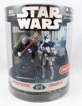 "Star Wars (30th Anniversary) - Hasbro - \""Order 66\"" Emperor Palpatine & Commander Vill (Target exclusive)"