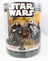 "Star Wars (30th Anniversary) - Hasbro - \""Order 66\"" Obi-Wan Kenobi & ARC Trooper Commander"