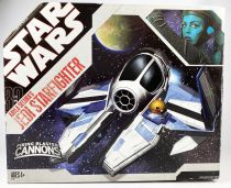 Star Wars (30th Anniversary) - Hasbro - Aayla Secura\'s Jedi Starfighter (Target Exclusive)