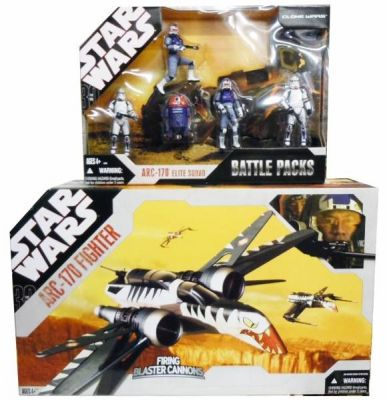Star Wars 30th Anniversary Collection ARC-170 Elite Clone Trooper