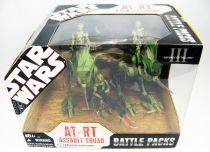 Star Wars (30th Anniversary) - Hasbro - AT-RT Assault Squad (Battle Packs)