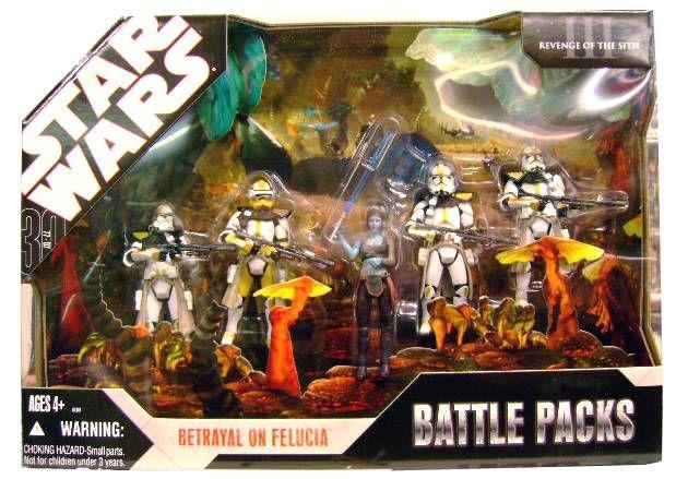 Star Wars 30th Anniversary Hasbro Betrayal On Felucia Battle Packs