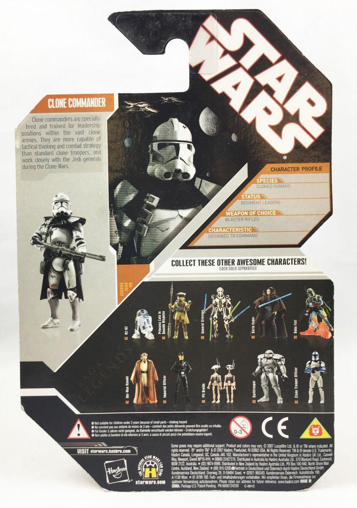 "Star Wars (30th Anniversary) - Hasbro - Clone Commander \""Fan\'s Choice\"" (Saga Legends)"