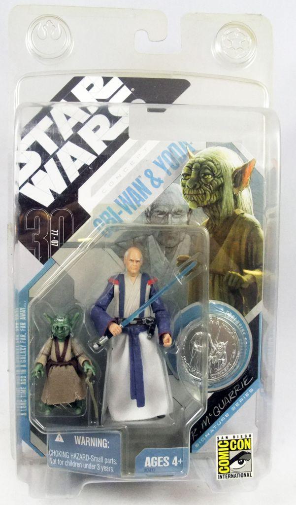 "Star Wars (30th Anniversary) - Hasbro - Obi-Wan & Yoda \""McQuarrie Concept\"""