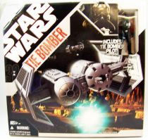 Star Wars (30th Anniversary) - Hasbro - TIE Bomber (includes TIE Bomber Pilot) loose with box