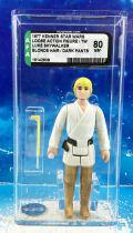 Star Wars (A New Hope) - Kenner - Luke Skywalker (Blond Hair) AFA 80NM Graded