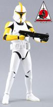 Star Wars (Attack of the Clones) - Clone Trooper Commander - Figurine 30cm Medicom Toys